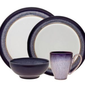 Denby Heather 4-Piece Place Setting