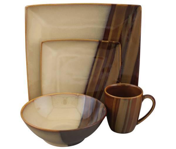 Brown Dinnerware Sets Plum Street Pottery