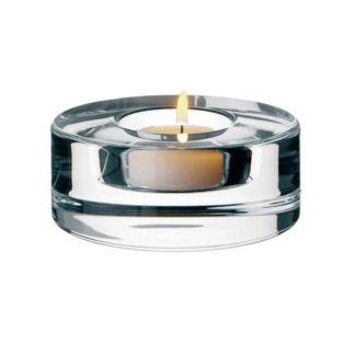 Orrefors Crystal Small Puck Votive
