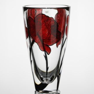 Kosta Boda Tall Tatto Vase