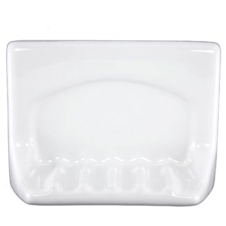 Lenape ProSeries Wall-Mount White Ceramic Soap Holder