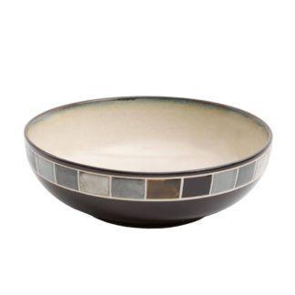 Gibson Casa Gris Serving Bowl