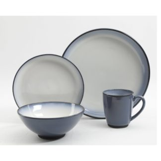 Gibson Serene Foutain 16-Piece Dinnerware Set