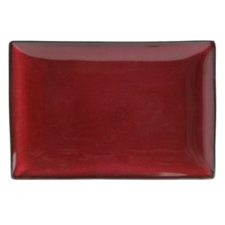 Gibson Soho Lounge Red Serving Platter