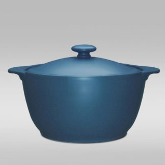 Noritake Colorwave Blue Covered Casserole