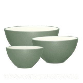 Noritake Colorwave Green Set of 3 Bowls