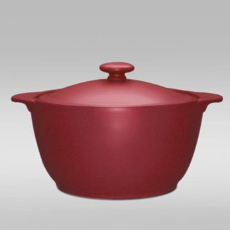 Noritake Colorwave Raspberry Covered Casserole
