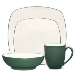 Noritake Colorwave Spruce Square 4-Piece Place Setting
