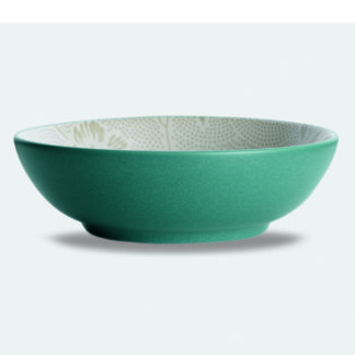 Noritake Colorwave Bloom Turquoise Vegetable Bowl