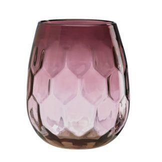 Lenox Hive Plum Crystal Vase