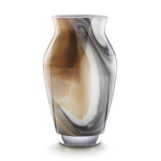 Lenox Crystal Seaview Sand Tulip Vase