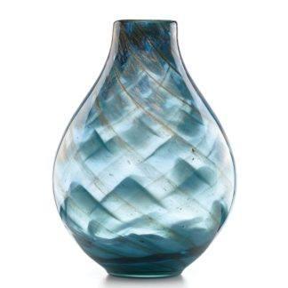 Lenox Crystal Seaview Swirl Vase