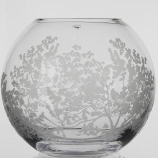 Orrefors Organic Large Round Vase