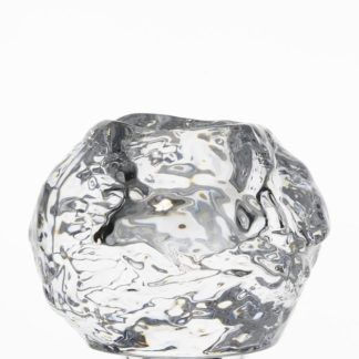 Orrefors Crystal Snowball Mini Votive