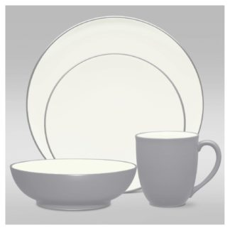 Noritake Colorwave Slate 4-Piece Place Setting