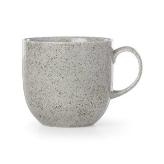 Dansk Raina Light Grey Porcelain Mug