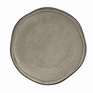 "Fortessa STON Mist Porcelain Salad & Dessert Plate - 8"""