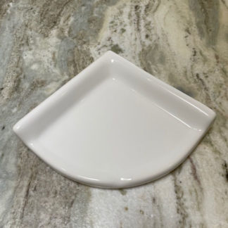 Ceramic Corner Shower Shelf Retro-Kit