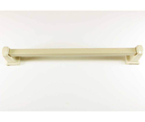 Lenape Carrousel 24 Inch Bone Ceramic Towel Bar Plum