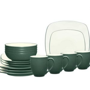 Noritake Colorwave Spruce Square Dinnerware Set