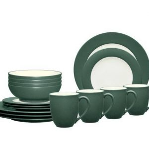 Noritake Colorwave Spruce Dinnerware Set
