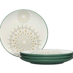 Noritake Colorwave Spruce Holiday Accent Plates