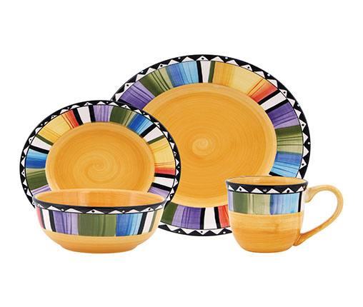 gibson fandango dinnerware set