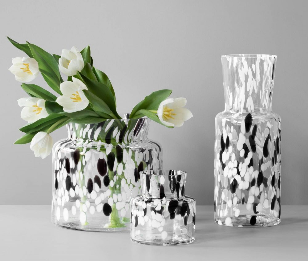 Kosta Boda Bjork Tall Vase Plum Street Pottery