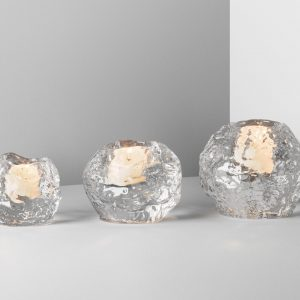 Kosta Boda Snowball Votives