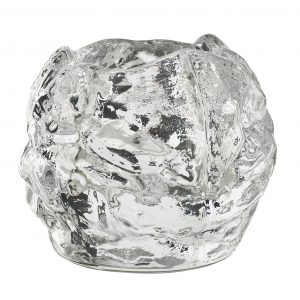 Kosta Boda Nordic Light Mini Snowball Votive