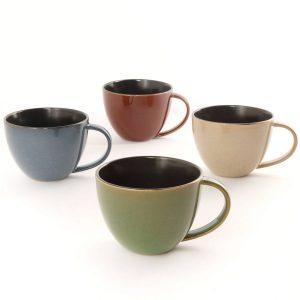 Gibson Earthly Jewels Latte Mug Set