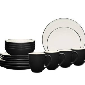 Noritake Colorwave Graphite Dinnerware Set