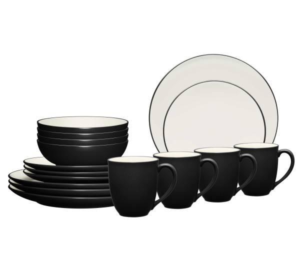Noritake Colorwave Graphite Dinnerware Set