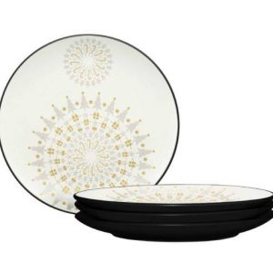 Noritake Colorwave Graphite Holiday Accent Plates
