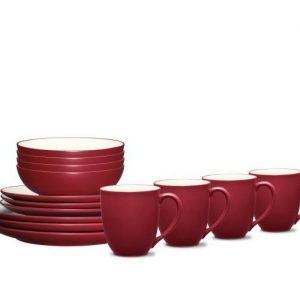 Noritake Colorwave Raspberry Coupe Dinnerware Set