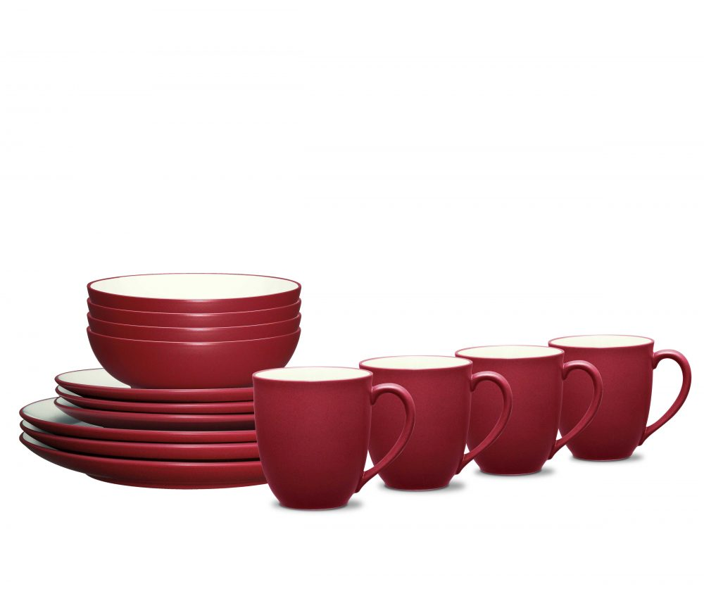 Noritake Colorwave Raspberry Coupe Dinnerware Set