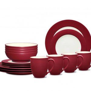 Noritake Colorwave Raspberry Dinnerware Set