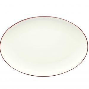 Noritake Colorwave Raspberry Oval Serving Platter
