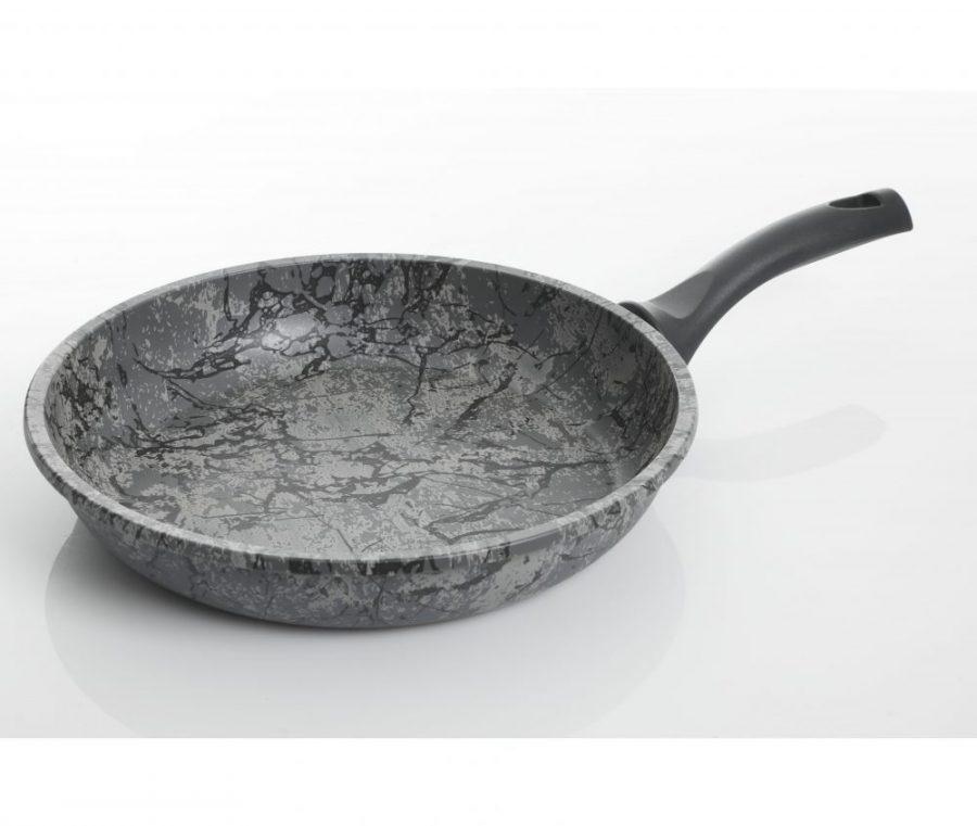 Tosca Carucci 11 Inch Marble Non Stick Frying Pan Grigio