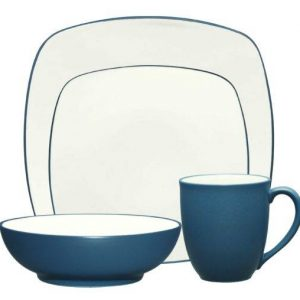 Noritake Colorwave Blue Square Dinnerware