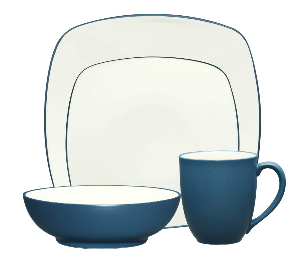 Noritake Colorwave Blue Square Dinnerware