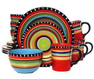 Gibson Home Pueblo Springs Dinnerware Set