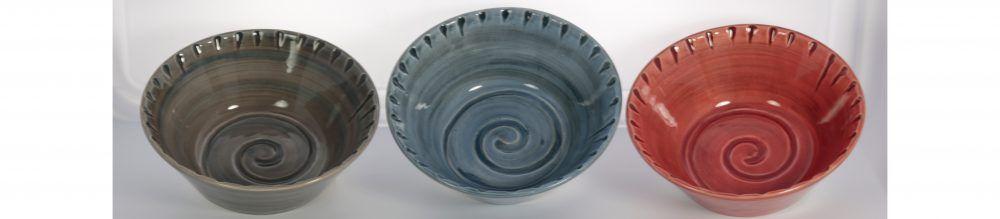 Plum Street Pottery Bowls