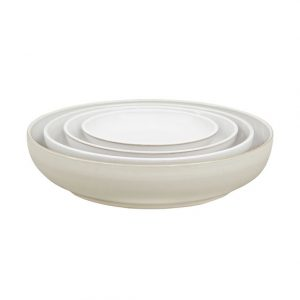 Denby Natural Canvas Nesting Bowls Set of Four