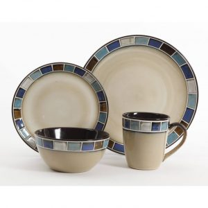 Gibson Elite Casa Azul 16-Piece Dinnerware Set