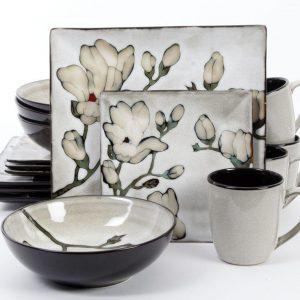Gibson Claretta 16-Piece Dinnerware Set