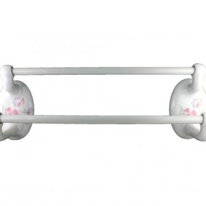 Lenape Classic Watercolors 24-Inch Double Towel Bar