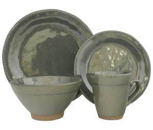 Sango Cyprus Jade Stoneware Dinnerware Set