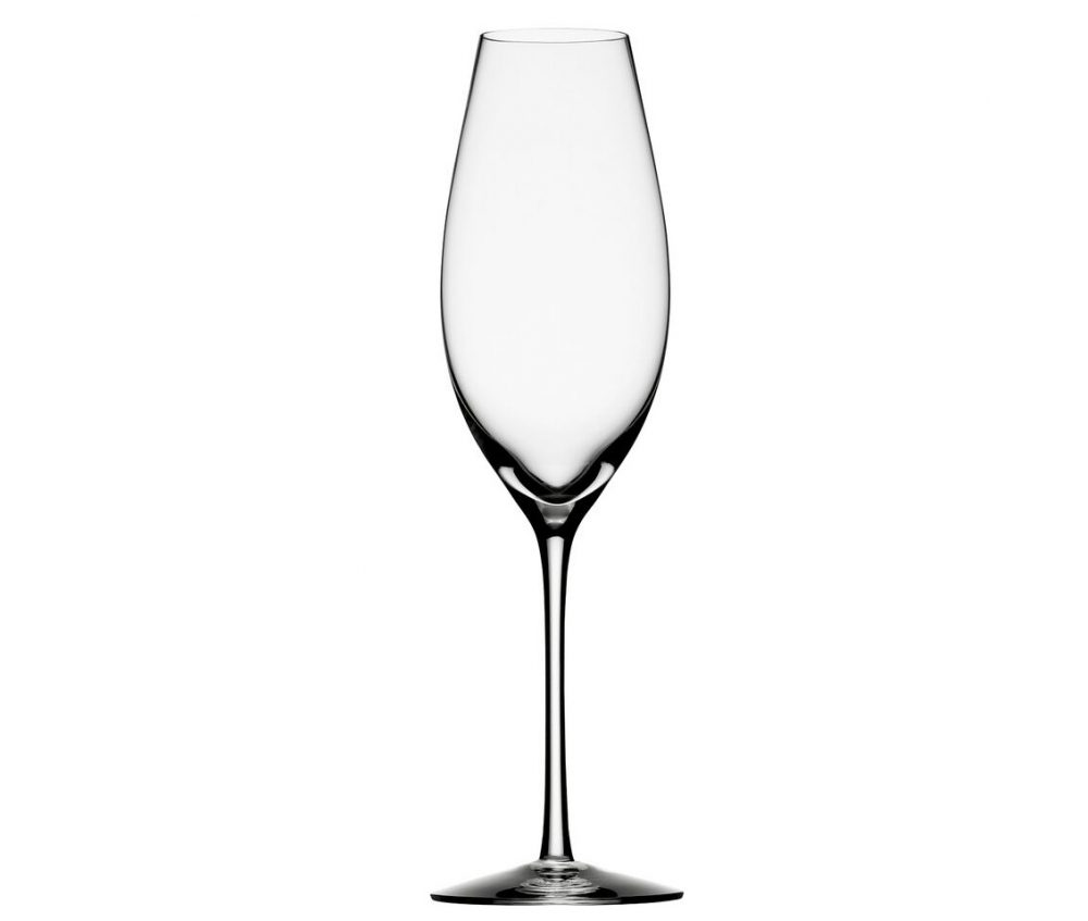 Orrefors Difference Sparkling Wine Glass