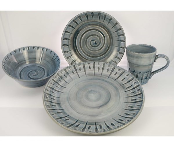 Handcrafted in Portugal  sc 1 st  Plum Street Pottery : dinnerware from portugal - pezcame.com